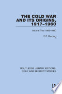 The Cold War and its Origins  1917 1960