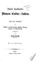 Daniel Hooibrenk's Pflanzen-Cultur-System. Nach seiner Wichtigkeit ... dargestellt von J. Peterffy. Mit vier Abbildungen