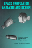 Space Propulsion Analysis and Design