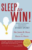 Sleep to Win  Book