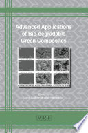 Advanced Applications of Bio-degradable Green Composites