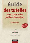 Pdf Guide des tutelles et de la protection juridique des majeurs Telecharger