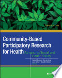 Community Based Participatory Research for Health