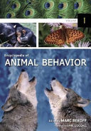 Encyclopedia Of Animal Behavior  A C
