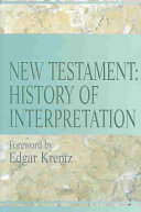 New Testament History Of Interpretation