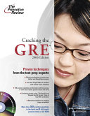 Cracking the GRE  with Four Full length Practice Tests on CD ROM Book