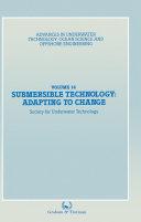 Submersible Technology: Adapting to Change Pdf/ePub eBook