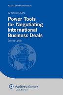 Pdf Power Tools for Negotiating International Business Deals