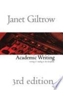 Academic Writing Third Edition