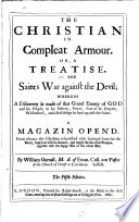 The Christian In Compleat Armour