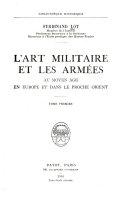 L'art militaire et les armées