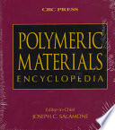 Polymeric Materials Encyclopedia Single  User CD ROM Version Book