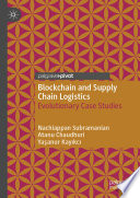 Blockchain and Supply Chain Logistics