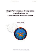 High Performance Computing Contributions to DoD Mission Success