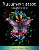 Butterfly Tattoo Coloring Book