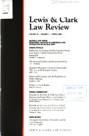 Lewis   Clark Law Review
