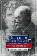 Durkheim Through the Lens of Aristotle