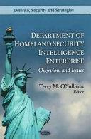 Department of Homeland Security Intelligence Enterprise