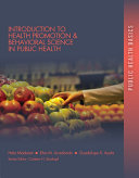 Introduction to Health Promotion   Behavioral Science in Public Health
