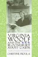Virginia Woolf and the Bloomsbury Avant-garde