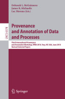 Provenance and Annotation of Data and Process