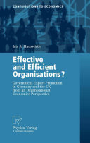 Effective and Efficient Organisations