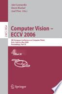 Computer Vision    ECCV 2006