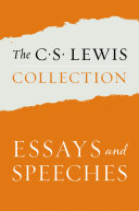 Pdf The C. S. Lewis Collection: Essays and Speeches Telecharger