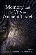 Memory and the City in Ancient Israel Pdf/ePub eBook