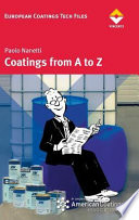 Coatings From A To Z Book PDF