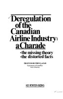 Deregulation of the Canadian Airline Industry