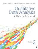 Bundle  Miles  Qualitative Data Analysis 3e   Saldana  The Coding Manual for Qualitative Researchers 3e