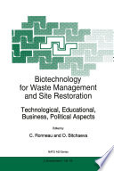 Biotechnology For Waste Management And Site Restoration Book PDF