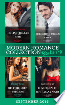 Modern Romance September Books 1 4 His Cinderella S One Night Heir One Night With Consequences Irresistible Bargain With The Greek His Forbidden Pregnant Princess Consequences Of A Hot Havana Night