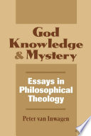 God  Knowledge  and Mystery