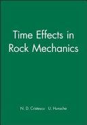 Time Effects In Rock Mechanics Book PDF