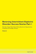 Reversing Intermittent Explosive Disorder Book