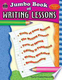 Jumbo Book Of Writing Lessons Book PDF