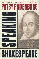 Speaking Shakespeare [Pdf/ePub] eBook