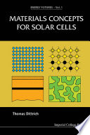 Materials Concepts For Solar Cells Book PDF