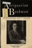 Antiquarian Bookman