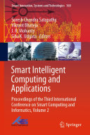 Pdf Smart Intelligent Computing and Applications