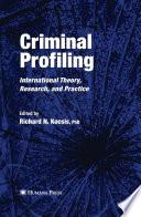 Criminal Profiling Book
