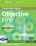 Pdf Objective First Student's Book with Answers with CD-ROM