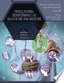 Translational Bioinformatics in Healthcare and Medicine