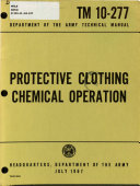 Protective Clothing, Chemical Operations
