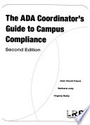 The ADA Coordinator's Guide to Campus Compliance