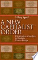 A New Capitalist Order
