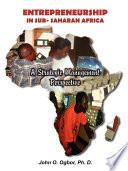 Entrepreneurship in Sub Saharan Africa