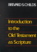 Introduction to the Old Testament as Scripture Book